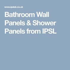 Our bathroom wall panels are hygienic, waterproof, mould free and scratch resistant. All shower panels are guaranteed 10 years. Shower Wall Panels, Waterproof Shower Wall Panels, Wall Panels, Wall, Bathroom, Paneling, Bathroom Wall Panels, Bathroom Wall