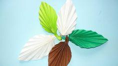 Origami Leaf - Youtube