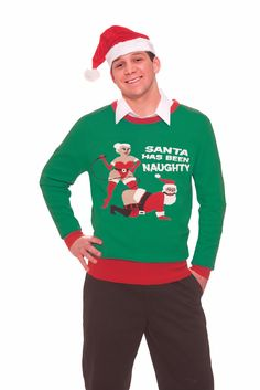 Red Reindeer Humping Ugly Christmas Sweater | Nerds United ...