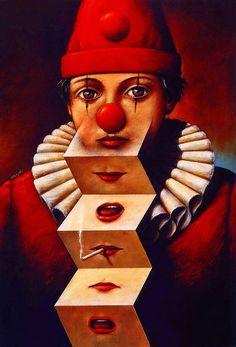 red.quenalbertini: Pinzellades al món, Rafal Olbinski illustration