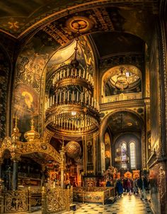 Beautiful Cathedral in Kiev by Andrei Drozdov