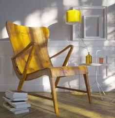 Carl Axel Armchair 1950´s on Behance #light #cgi