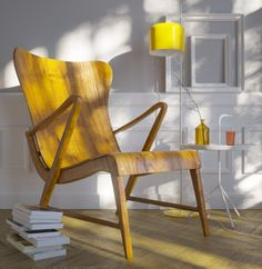 Carl Axel Armchair 1950´s by SHD , via Behance
