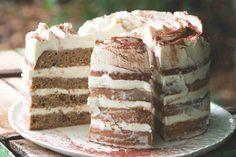 Tiramisu, Baking, Ethnic Recipes, Food, Mascarpone, Bakken, Essen, Meals, Tiramisu Cake