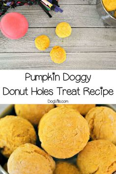 Skip the sugar-laden drive through freebie and whip up a batch of these pumpkin doggy donut holes hypoallergenic dog treats for your pooch! Homemade Donuts, Homemade Dog Treats, Pet Treats, Healthy Dog Treats, Dog Treat Recipes, Dog Food Recipes, Dog Treat Puzzles, Hypoallergenic Dog Treats, Food For Digestion
