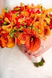 El ramo de la novia, la pieza principal de este gran día en naranja