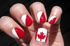 Celebrate Canada Day with a Special Nail Art Design!Celebrate Canada Day with a Special Nail Art Design!Let's Celebrate! Nail Polish Designs, Nail Art Designs, Nails Design, Cute Nails, Pretty Nails, Canada Day Party, Red And White Nails, Flag Nails, Special Nails