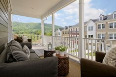 The Chatham II at Avinity #ModelHome, #outdoorlivingspace, #porch, #beautifulview