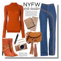 """""""NYFW Style Insider"""" by queenvirgo ❤ liked on Polyvore featuring Theory, Isabel Marant, See by Chloé, PL8, Mulberry, Bobbi Brown Cosmetics and Henri Bendel"""