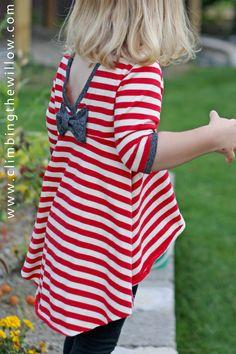 Climbing the Willow: secret garden knit top (The Secret Garden Dress Pattern)