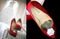 Cute bridesmaid shoes