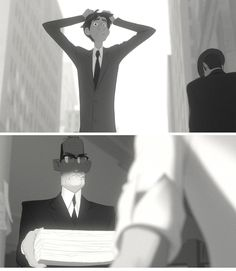 Paperman. If you never saw it, Watch it. Seriously. It Worth. And it's less than 7 minutes... Come On! :)