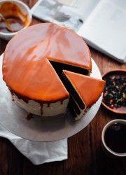 London Fog Cake with