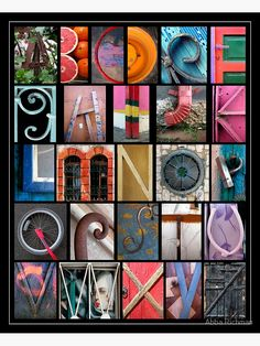 'Coloured Alphabet Print' Poster by Abba Richman Alphabet Photography Letters, Letter Photography, Picture Letters, Photography Projects, Alphabet A, Alphabet Photos, Alphabet Posters, Printable Alphabet, David Lachapelle