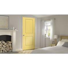 Jeld-Wen Marigold Prehung Hollow Core 2-Panel Square Interior Door (Co