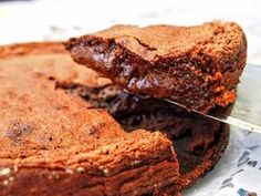 Ultimate Fudgy Brownies have 4 different types of chocolate to satisfy all your chocolate needs. Fudgy, rich, decadent, and perfect with a glass of milk. Best Brownie Recipe, Brownie Recipes, Dessert Recipes, Snacks Recipes, Apple Recipes, Cooking Recipes, Beste Brownies, Fudgy Brownies, One Bowl Brownies