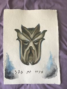 My sister-in-law made this for me for Christmas #games #Skyrim #elderscrolls #BE3 #gaming #videogames #Concours #NGC