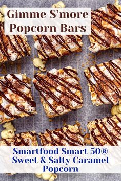 Popcorn Bar, Mini Marshmallows, Sweet And Salty, Unsalted Butter, Graham Crackers, Treat Yourself, Melting Chocolate, 1 Cup, Caramel