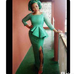Fabulous and Trendy Aso-Ebi Styles that Will Keep You Drooling - Wedding Digest NaijaWedding Digest Naija