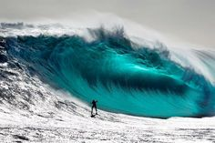 Epic big wave surf photo by Andrew Chisholm