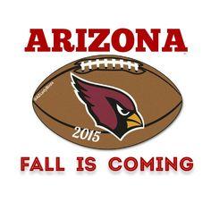 Arizona Cardinals Football Club. Fall is coming 2015. #azcardinals #BirdGang #AZLadyBirds #RedSea #ProtectTheNest