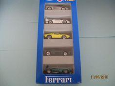 Hot Wheels Ferrari Gift Pack (1995) #12405 Styles and colors may vary by Mattel. $4.99. Ferrari Testarossa, Ferrari F40, Ferrari 308, Ferrari 348, Ferrari 250. Ferrari Testarossa, Ferrari F40, Ferrari 308, Ferrari 348, Ferrari 250