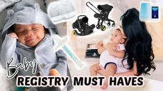 My TOP Baby Registry MUST HAVES As A Second Time Mom! MissLizHeart - YouTube