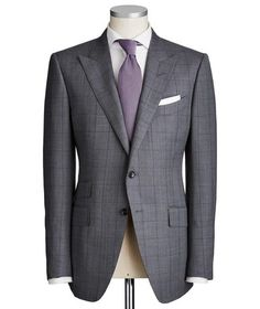 Renowned for designer men's suits, Harry Rosen offers a variety of luxuriously tailored options. From wool to cashmere and smooth silk, menswear designers such as Tom Ford and Hugo Boss have you covered New Mens Suits, Grey Suit Men, Black Suits, King Fashion, Suit Fashion, Sharp Dressed Man, Well Dressed Men, Connor Suits, Tom Ford Jacket