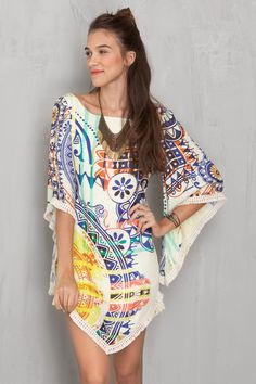 Vestido lenço estampado solar   Dress to                                                                                                                                                                                 Mais