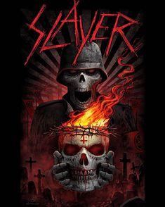 Heavy Metal Art, Heavy Metal Bands, Arte Led Zeppelin, Iron Maiden Posters, Hard Rock, Rock Y Metal, Band Wallpapers, Metal Tattoo, Metal Albums