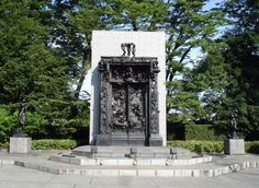 By Rodin 'The Gates of Hell' @ Ueno, Tokyo; I'm ever getting close to it with all my sins and sickness.