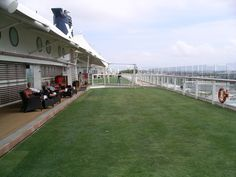 Bocce and Bowling on the Lawn Deck - Celebrity Solstice
