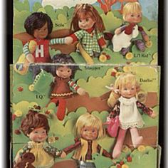Honey Hill Bunch dolls! I had all of these!!