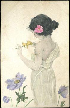 Maid of Athens--Raphael Kirchner