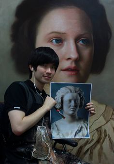 "By Joongwon Jeong: ""I met this 17th-century lady, Costanza Bonarelli, at Bargello museum on my trip to Florence last winter. Both the photograph and the painting don't do her justice. She looks much more beautiful in person."""