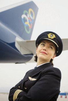 Be an Aviator Not a Pilot Captain Mohit and Madhu Airline Uniforms, Airline Pilot, Olympic Airlines, Pilot Uniform, Female Pilot, Female Soldier, Commercial Pilot, Aviators Women, Civil Aviation