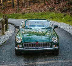 1965 MGB Convertible British Racing Green