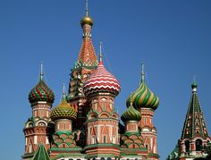 St. Basil's Cathedral, Moscow (Russia)