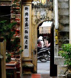 Calle en Hanoi