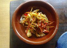 Namban-zuke (Légumes et poissons marinés à la sauce vinaigre) #Japanese Recipe