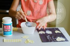petit à petit and family: How To Craft With Kids... 10 tips by Caroline from Salsa Pie