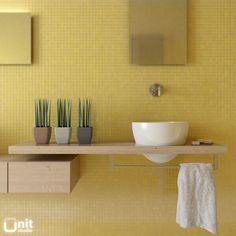 29 Yellow Mosaic Bathroom Tiles Ideas And Pictures Design Ideas