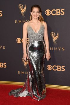 See what all your favorite TV stars are wearing the moment they hit the red carpet.