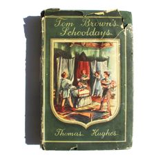 Items similar to Tom Brown's Schooldays by Thomas Hughes. With Drawings by Leonard Huskinson. The Heirloom Library on Etsy Vintage Children's Books, Antique Books, Vintage Antiques, Tom Brown's Schooldays, Thomas Hughes, Craft Shop, School Days, Drawing S, Toms