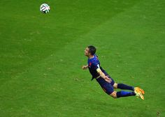 The Flying Dutchman, Robin van Persie. Spain 1 - Netherlands 5 #WorldCup #netherlands