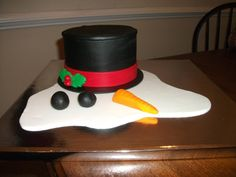 Looking for cake decorating project inspiration? Check out snowman by member mom bear.