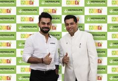 Herbalife India Congratulates Virat Kohli for Being Appointed as Captain of the Indian Cricket Team for All Formats