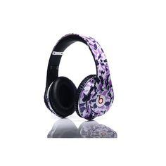 Beats by Dr. Dre Studio Camo Purple