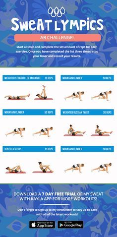 In celebration of the 2016 Rio Olympics, I have decided to create three special workouts for you girls! Grab your friends and have some fun by doing these toget