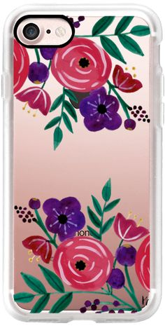 Casetify iPhone 7 Classic Grip Case - Summer Floral by Kathryn Cole #Casetify